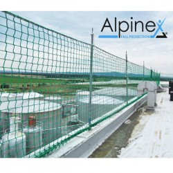 Siatka barierkowa 1,10x10m typ U pionowe