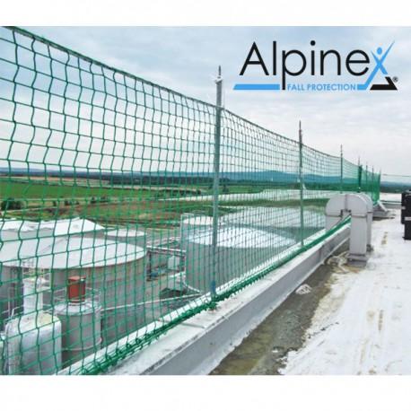 Siatka barierkowa 2x10m typ U pionowa