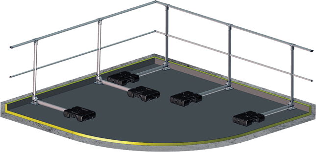 Balustrady dachowe, barierki zabezpieczające na dach