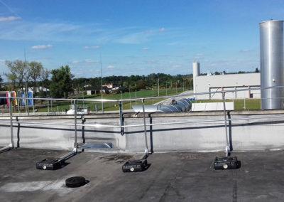balustrady dachowe mobilne
