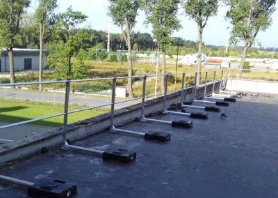 barierki mobilne na dach