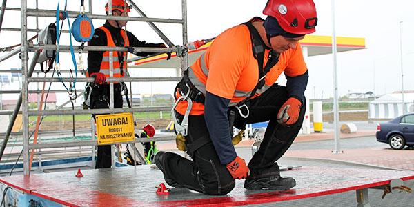 Szkolenie wysokościowe w dostępie budowlanym