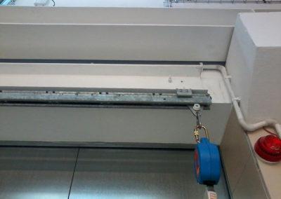 podwieszany system szynowy