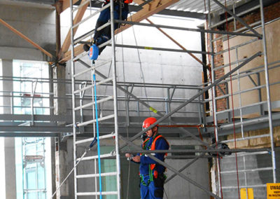 szkolenia bhp bezpieczna praca na wysokości