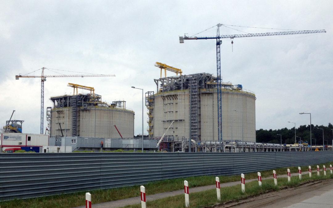 Inwestycja LNG Terminalu Gazowego w Świnoujściu z udziałem siatek polipropylenowych Alpinex